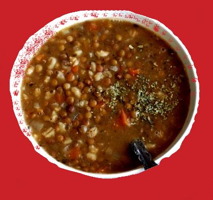 Čorba od sočiva i ječma sa povrćem - Recepti i Kuvar online