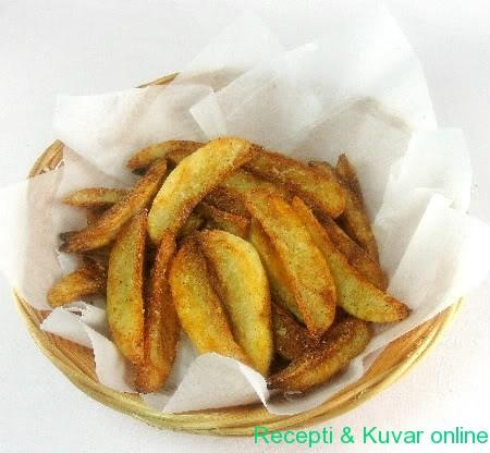Pečeni krompir sa parmezanom - Recepti i Kuvar online
