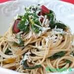 Špagete sa blitvom - Recepti i Kuvar online