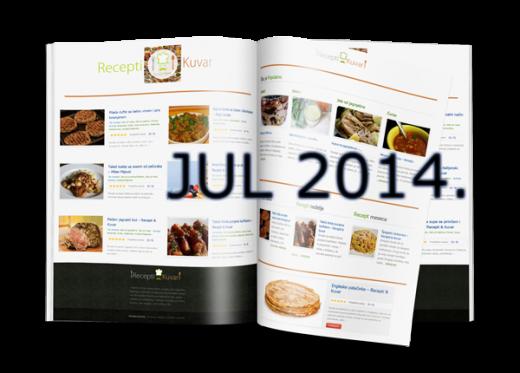 Kuvar - svi recepti iz jula 2014 | Recepti & Kuvar Online - Šta da kuvam danas?