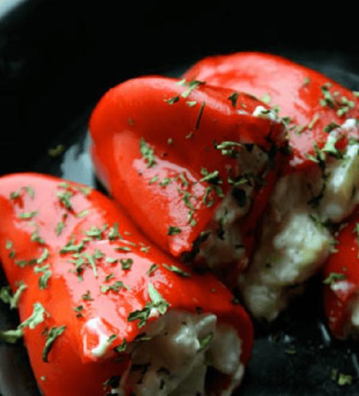 Zapečene paprike sa sirom - Recepti i kuvar online