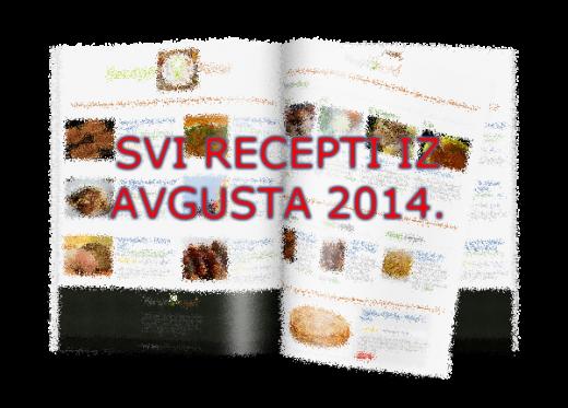 Kuvar - svi recepti iz avgusta 2014 | Recepti & Kuvar Online - Šta da kuvam danas?