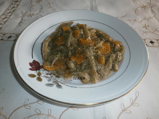Paprikaš od bukovača - Ivana Pešić - Recepti i Kuvar online