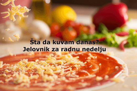 Šta da kuvam danas? - Jelovnik za 22.-26.09.2014. - Recepti & Kuvar | Recepti & Kuvar Online - Šta da kuvam danas?