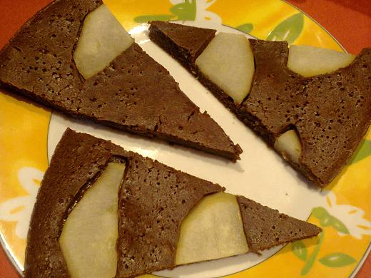 Čoko kolač sa kruškama - Marija Mirković