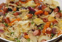Ilustracija: Pirinač sa kobasicom Chorizo, Image by kalhh from Pixabay
