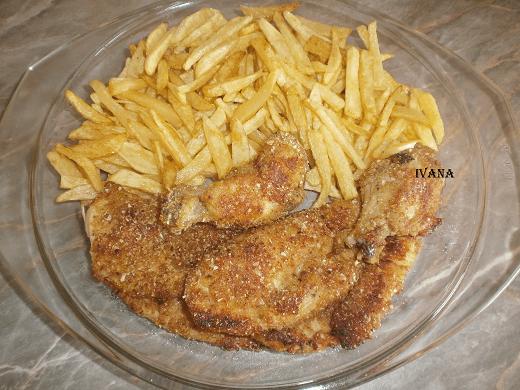 Panirana piletina - Ivana Pešić - Recepti i Kuvar online