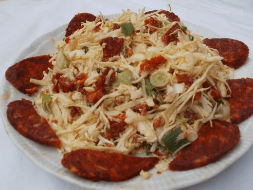 Kupus salata sa domaćim kulenom - Zuzana Grnja - Recepti i Kuvar online