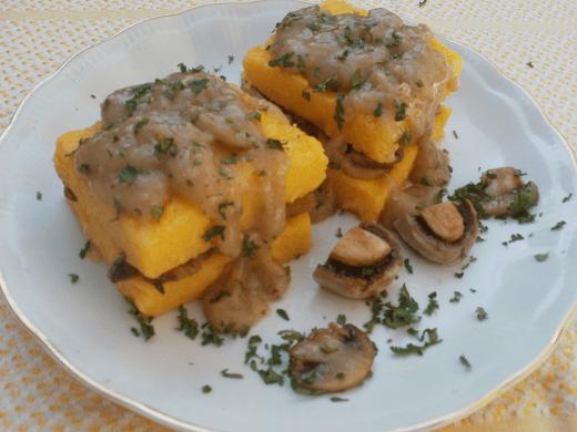 Palenta sa šampinjonima i sosom - Zuzana Grnja - Recepti i Kuvar online