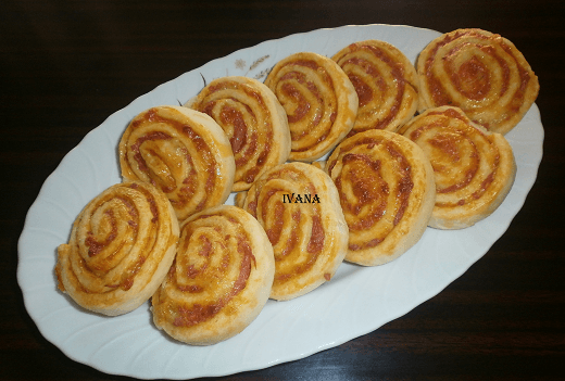 Pizza pužići - Ivana Pešić - Recepti i Kuvar online