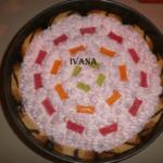 rolat torta sa zele bombonama Ivana Pesic png