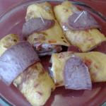 rolnice od omleta i kobasice Marija Mirkovic
