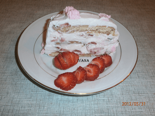 Šlag torta sa jagodama - Ivana Pešić - Recepti i Kuvar online