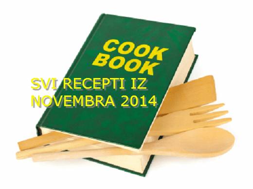 Kuvar - svi recepti iz novembra 2014 | Recepti & Kuvar Online - Šta da kuvam danas?