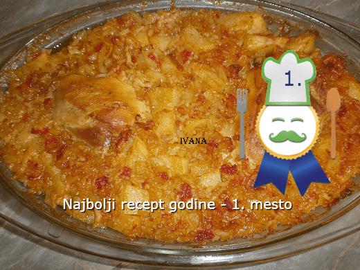 Đuveč sa batacima - najbolji recept 2014. godine - 1. mesto - Ivana Pešić - Recepti i Kuvar online