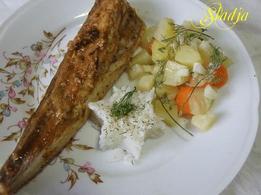 Pečeni oslić u belom vinu - Slađana Šćekić - Recepti i kuvar online