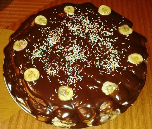 Čoko torta sa banana i ananasom - Ana Vuletić - Recepti i Kuvar online