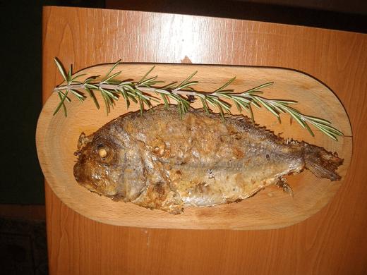 Pečena riba zubatac - Ljiljana Stanković - Recepti i Kuvar online