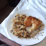Piletina sa rižotom i pečurkama - Slađana Šćekić - Recepti i Kuvar online