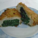 belo meso sa spanacem u ciscu Angela Kis recepti i kuvar online