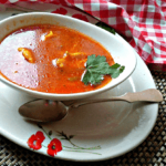paradajz corba sa knedlama Kristina Gaspar recepti i kuvar online