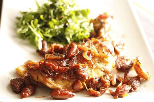 Piletina sa bademima - Jelena Popović Đorđević - photo by Hrana, Piće, Priče