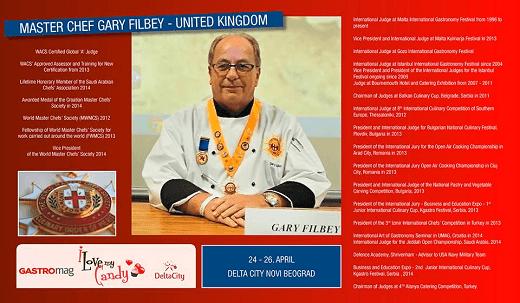Master Chef Gary Filbey - United Kingdom - jedan od elitnih sudija na takmičenju beogradskih hotela i restorana | Recepti & Kuvar Online - Šta da kuvam danas?