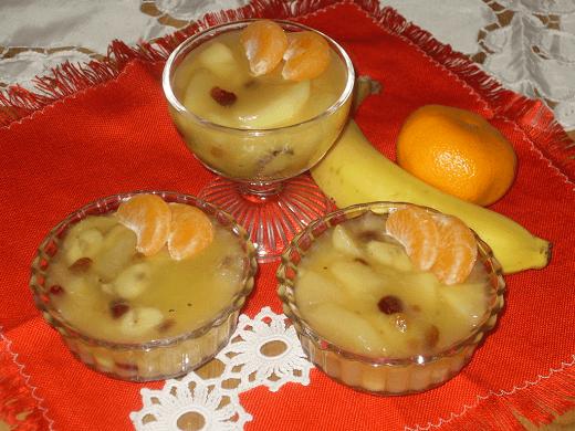 Puding sa voćem - Adilja Hodža - Recepti i Kuvar online