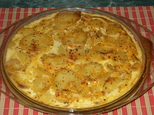 Zapečeni krompir sa jajima - Adilja Hodža - Recepti i Kuvar online