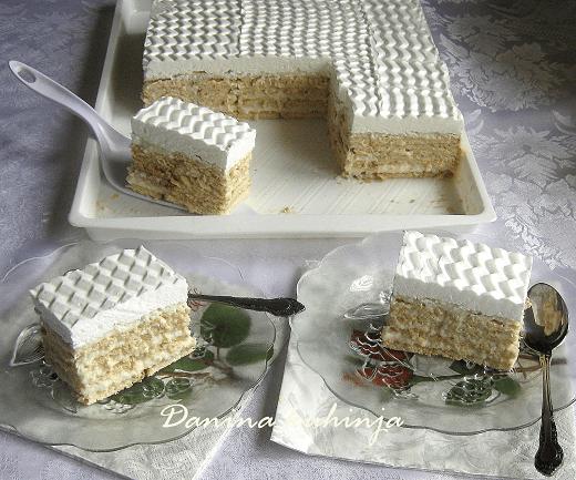 Bele keks kocke sa kokosom - Dana Drobnjak | Recepti & Kuvar Online - Šta da kuvam danas?