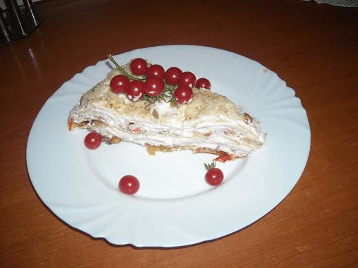 Torta s pohovanim paprikama - Ljiljana Stanković | Recepti & Kuvar Online - Šta da kuvam danas?