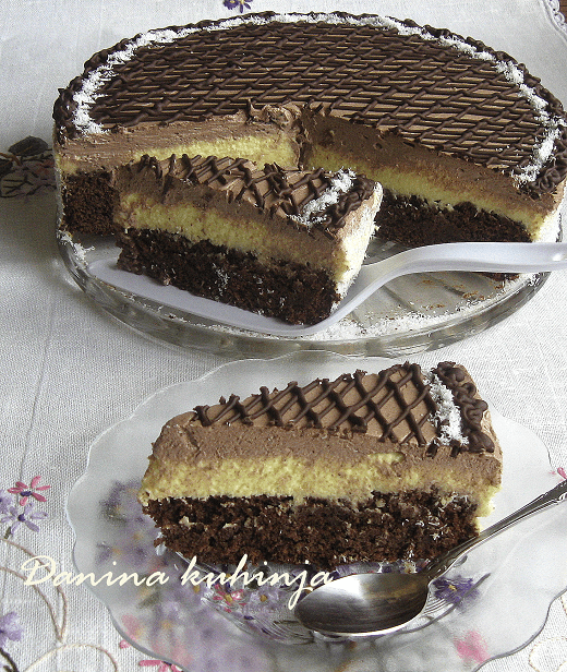 Čokoladna kokos torta - Dana Drobnjak - Recepti i Kuvar online