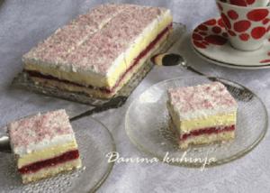 Kocke sa malinama - Dana Drobnjak - Recepti i Kuvar online