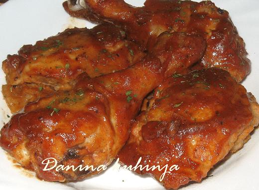 Marinirana pečena piletina - Dana Drobnjak | Recepti & Kuvar Online - Šta da kuvam danas? 1