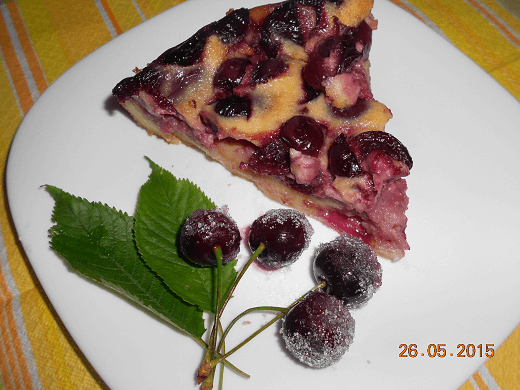 Zalivena pita sa trešnjama - Slađana Bokić | Recepti & Kuvar Online - Šta da kuvam danas?