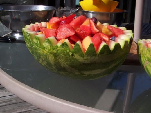 Letnja voćna salata - Recepti i Kuvar online