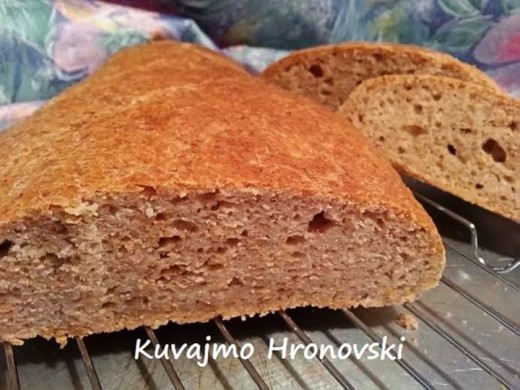 Najbrži hrono hleb - Jadranka Blažić - Recepti i Kuvar online