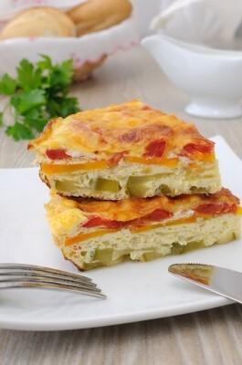 Omlet sa slatkim paprikama - Ručak na brzinu - Recepti i Kuvar online