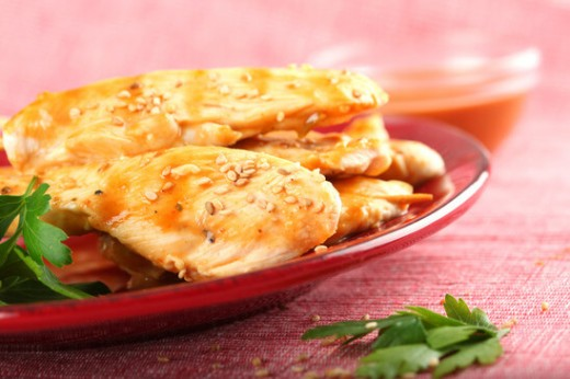 Piletina sa senfom i susamom - Ručak na brzinu - Recepti i Kuvar online