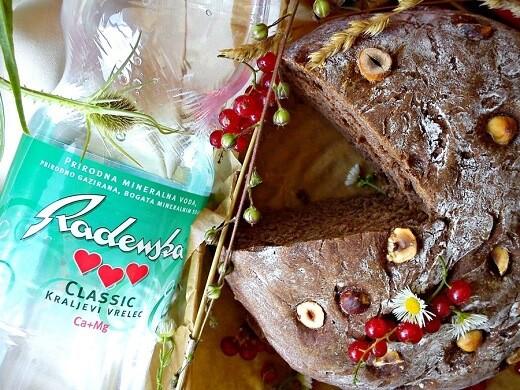 Slani kakao hleb - prirodna mineralna voda Radenska - Recepti i Kuvar online