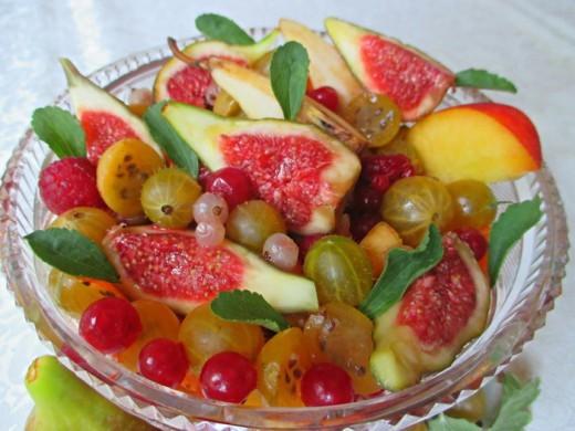Voćna salata sa stevijom - Snežana Kitanović - Recepti i Kuvar online