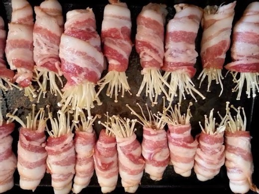 Enoki sa slaninom - Jadranka Blažić - Recepti i Kuvar online