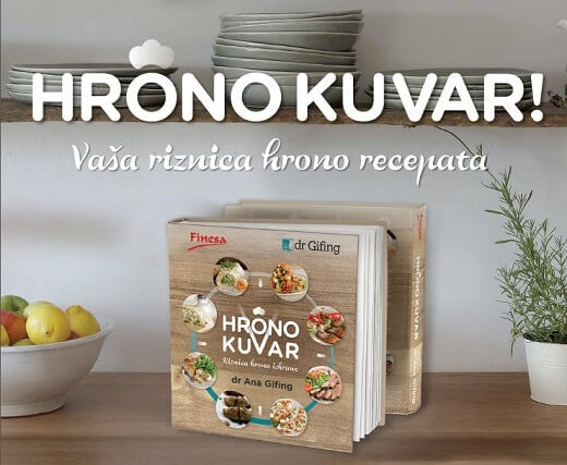 Preporučujemo knjigu Hrono kuvar, dr Ana Gifing - Recepti i Kuvar online