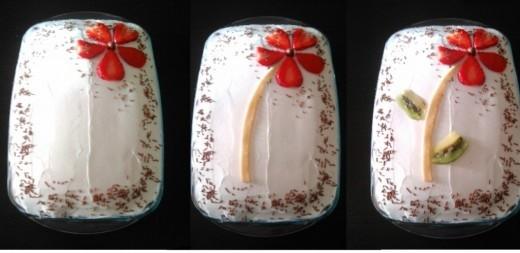 Laka dekoracija torte voćem - Ana Vuletić - Recepti i Kuvar online