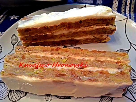 Torta od tikvica - Jadranka Blažić - Recepti i Kuvar online