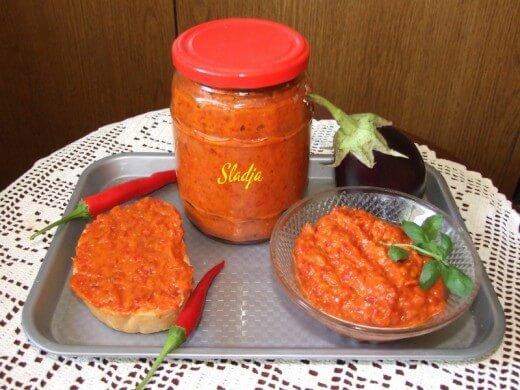 Ajvar sa senfom i ljutim papričicama - Slađana Šćekić - Recepti i Kuvar online