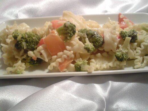 Pasta sa brokolima i paprikama - Dragana Skular - Recepti i Kuvar online