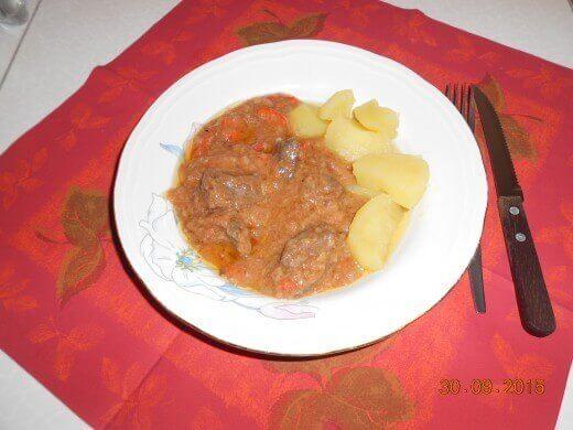 Pržena svinjska džigerica u paradajz sosu - Slađana Bokić - Recepti i Kuvar online