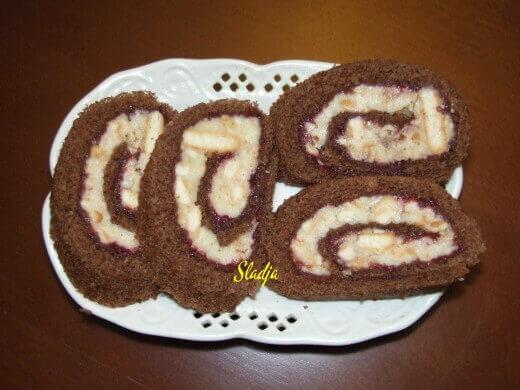 Rolat sa keksom - Slađana Šćekić - Recepti i Kuvar online