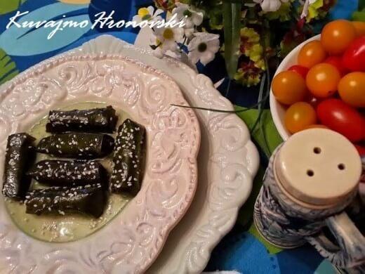 Tuna u vinovoj lozi - Jadranka Blažić - Recepti i Kuvar online